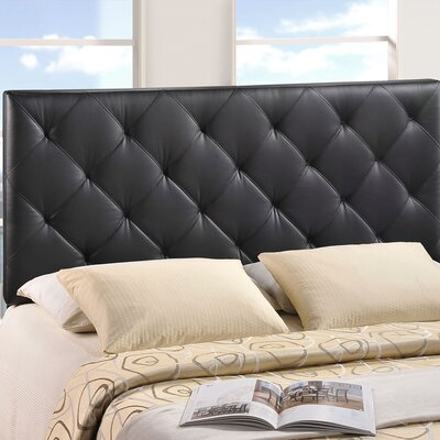 Theodore Upholstered Panel Headboard Size: King