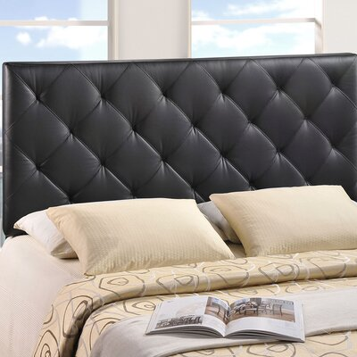 Theodore Upholstered Panel Headboard Size: Twin