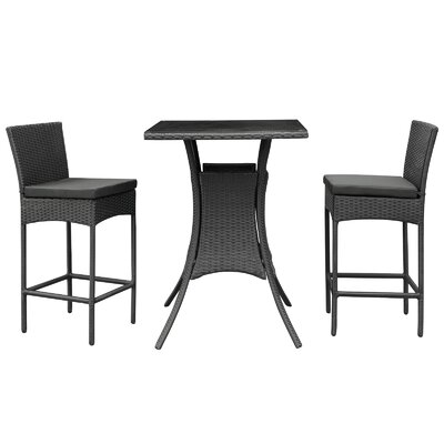 Bevanda 3 Piece Bar Set
