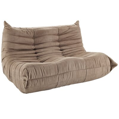Waverunner 49 Bean Bag Sofa Upholstery: Brown