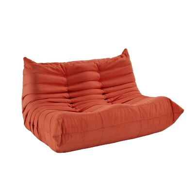 Waverunner 49 Bean Bag Sofa Upholstery: Orange