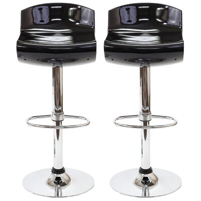 Dazzle Adjustable Height Swivel Bar Stool