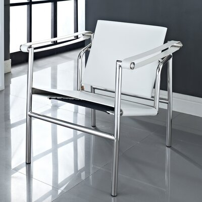 Arm Chair Color: White