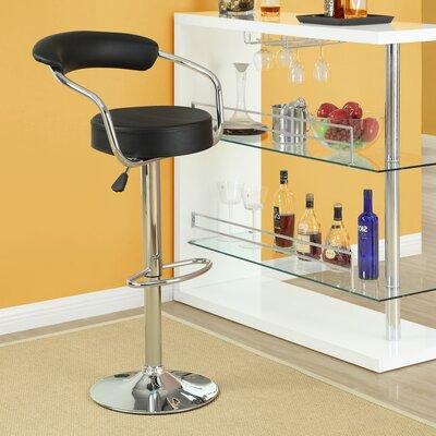 Diner Adjustable Height Swivel Bar Stool