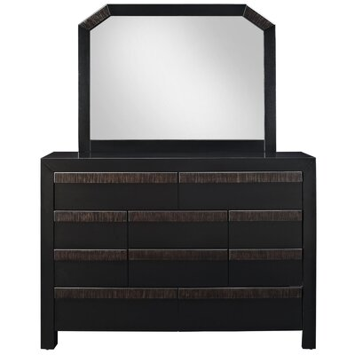 Tommy 10 Drawer Dresser Mirror