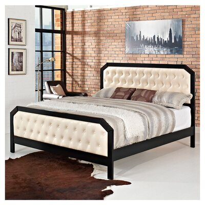 Tommy Upholstered Platform Bed Size: King