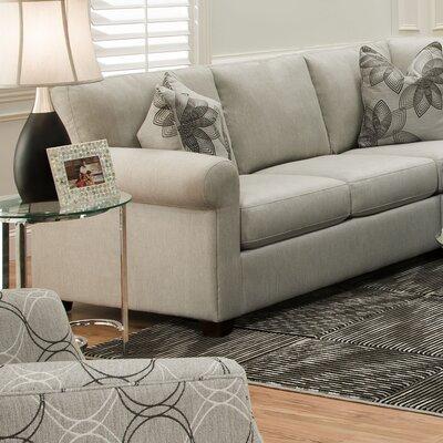 Ross Pique Gravel Sofa