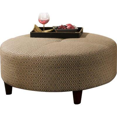 Anniston Round Cocktail Ottoman