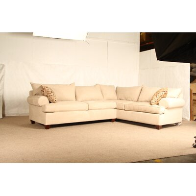 Charo Sleeper Sectional Upholstery: Stone