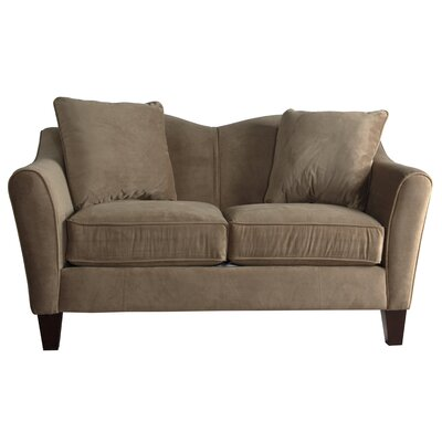 Pickett Loveseat Upholstery: Taupe