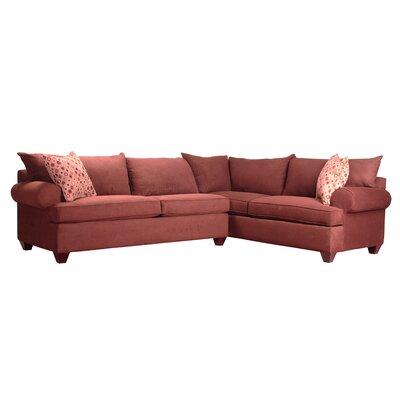 Charo Sleeper Sectional Upholstery: Java