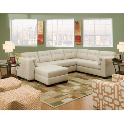 Bauhaus USA S18A331 Imperial Sectional   Loveseat Left