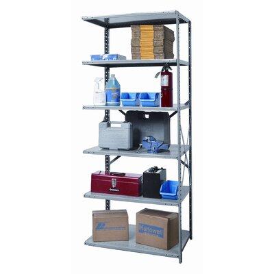 Hi-Tech Heavy-Duty Open Type 5 Shelf Shelving Unit Add-on Size: 87