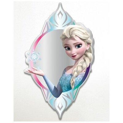 SpiegelWandtattoo Frozen Elsa   Dekoration > Wandtattoos > Wandtattoos   Blautransparent   Graham & Brown