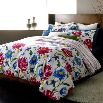 Piccadilly 3 Piece Reversible Duvet Set Size: Queen