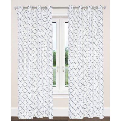 Brighton Moroccan Tile Curtain Panels