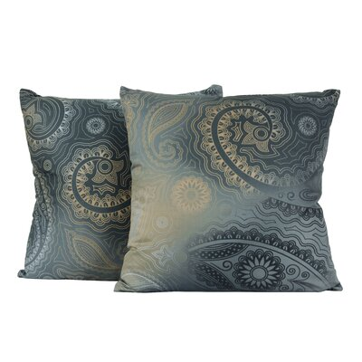 Paisley Gypsy Cotton Throw Pillow