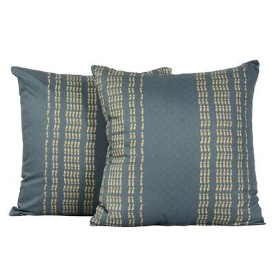 Rapture Tile Print Cotton Throw Pillow