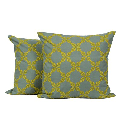 Vintage Chain Link Throw Pillow