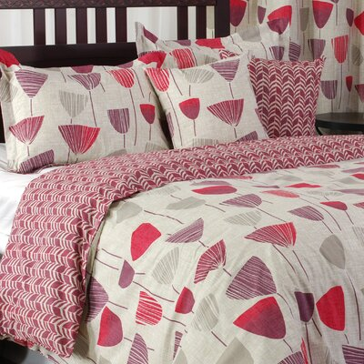 Apollo 5 Piece Reversible Duvet Cover Set Size: Queen