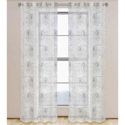 Paris Voile Curtain Panels