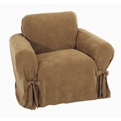 Chic Box Cushion Armchair Slipcover