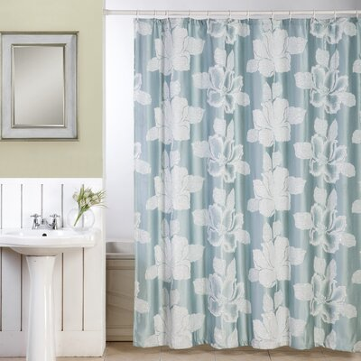 Shower Curtain Color: SPA Blue