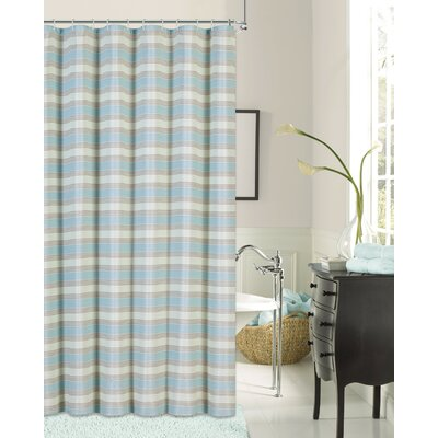 St. Johns Blend Shower Curtain Color: Blue