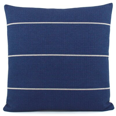 Streamline Decorative Woven Throw Pillow Color: Blue