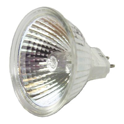 MR16 Quartz Halogen Replacement Bulb Wattage: 35W