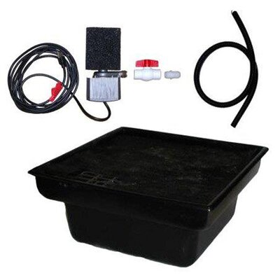 "Space Saver 24"" Rigid Liner Basin Kit with 10 GPM Pump and Fittings"