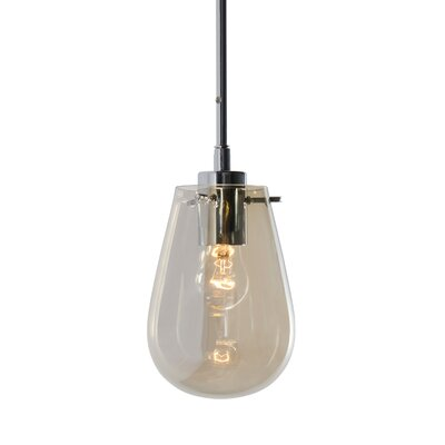 Cognac 1-Light Mini Pendant