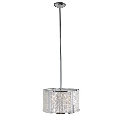 Correa 3-Light Drum Pendant