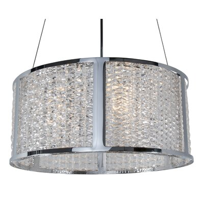 Correa 5-Light Drum Pendant