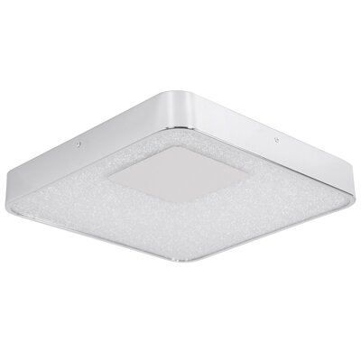 Crystalline 1-Light Flush Mount