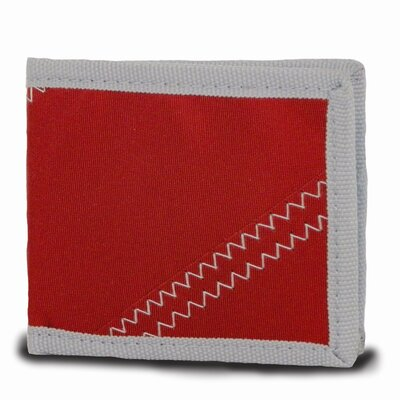 SailorBags Wallet - Color: True Red with Grey Trim at Sears.com