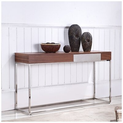 Giga Console Table Finish: Walnut