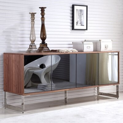 Cuadro Buffet Table Finish: Walnut