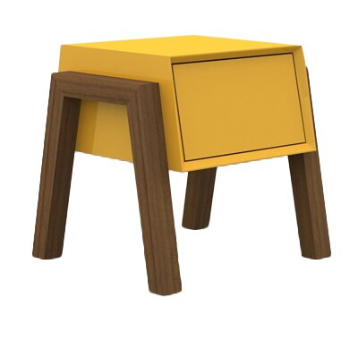 Figo End Table Finish: Yellow