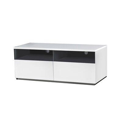 Cristallino TV Stand Size: 19 H x 94.45 W x 17.75D