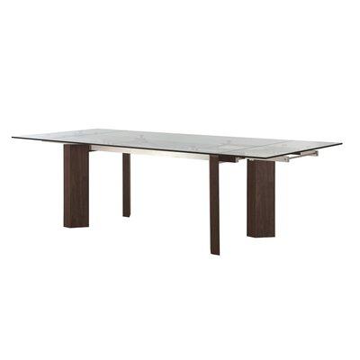 Torino Extendable Dining Table Base Finish: Walnut Veneer