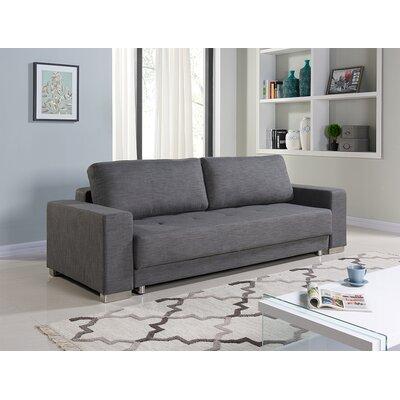 Cloe Sleeper Sofa Upholstery: Gray