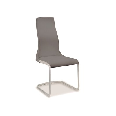 Vero Side Chair (Set of 2) Upholstery: Gray