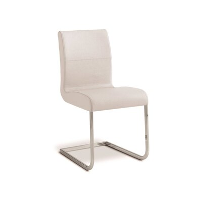 Stella Side Chair (Set of 2) Upholstery: White