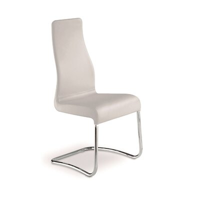 Blalock Side Chair (Set of 2) Upholstery: White