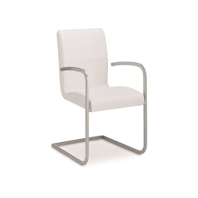 Stella Genuine Leather Upholstered Dining Chair