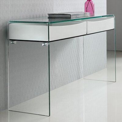 Ibiza Console Table Finish: White