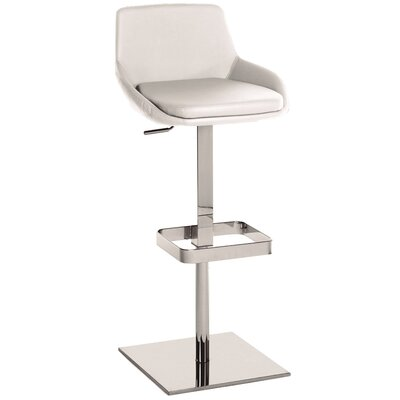 Laura Adjustable Height Swivel Bar Stool