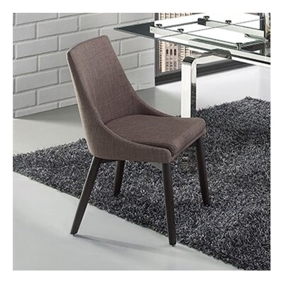 Creek Side Chair in Linen - Dark Gray