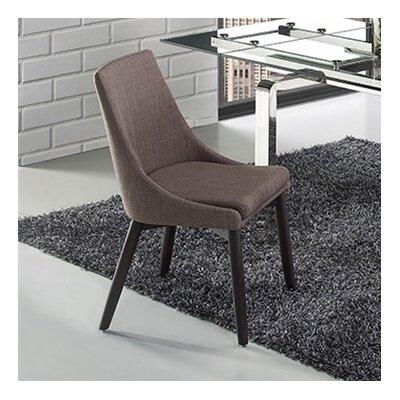 Creek Side Chair Upholstery: Linen - Dark Gray